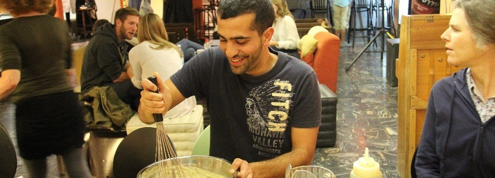 Hummus workshop - Abraham Hostels