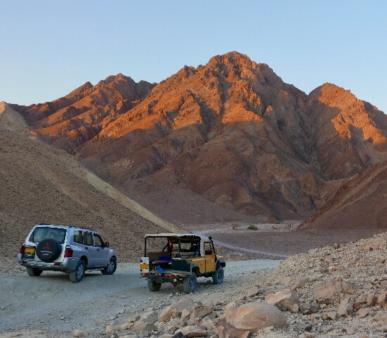 Eilat Desert Jeep Tour