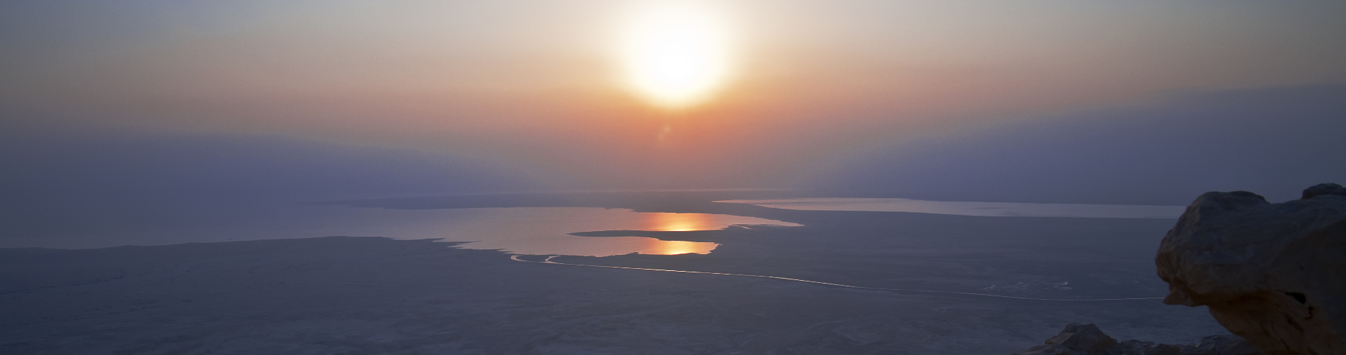 MASADA SUNRISE from jerusalem