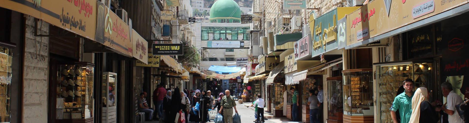 Market in Jenin