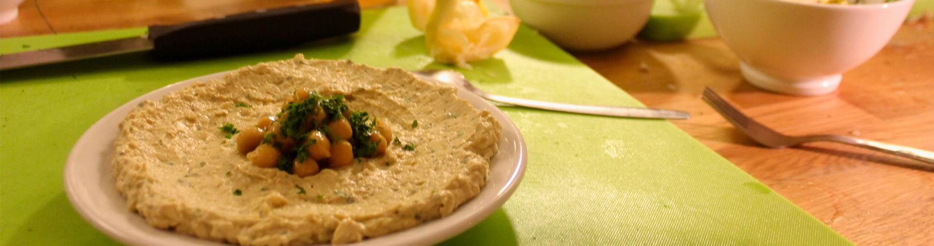 learn to make hummus