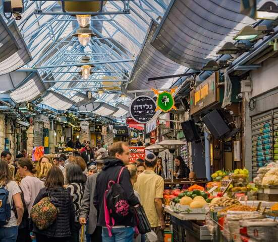 Culinary Market Experience in Jerusalem