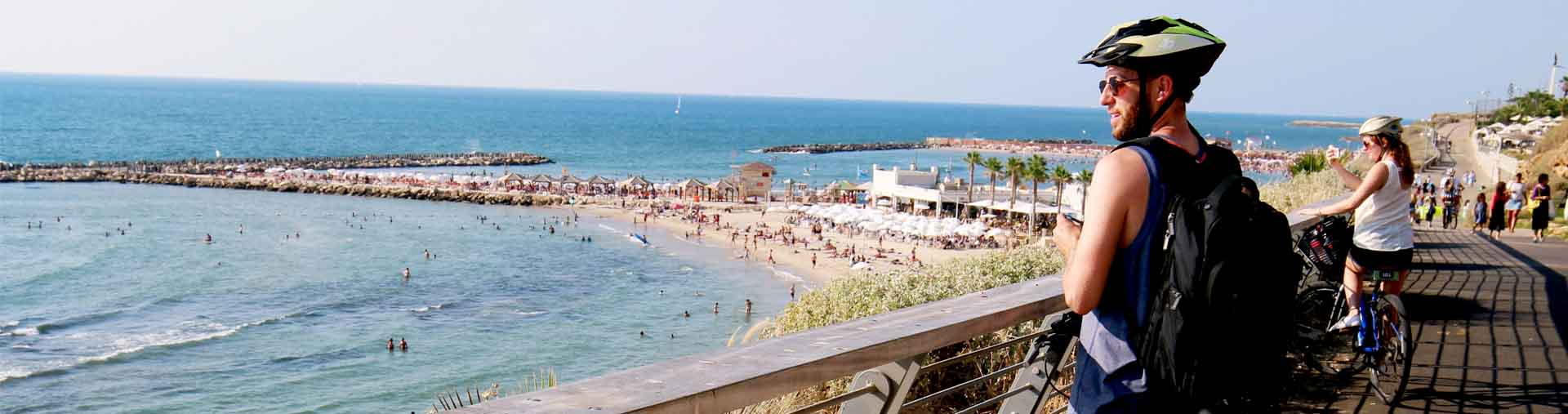 the beach of tel aviv