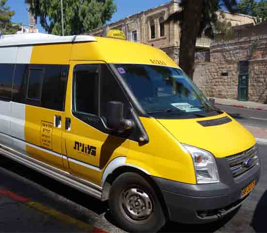 Airport Transfer - Ben-Gurion Airport to Abraham Hostel Jerusalem