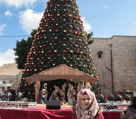 Christmas greetings from the Holy Land