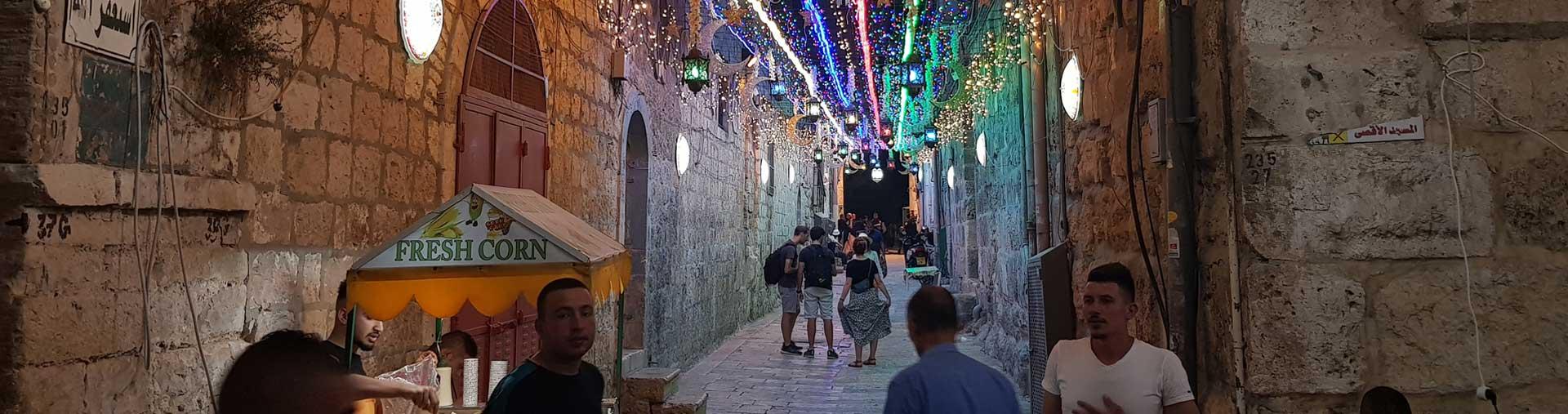 Muslim quarter at nigth